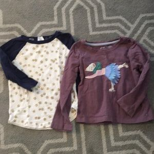 T shirt bundle mini Boden crewcuts